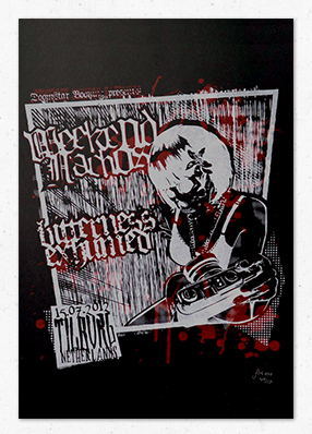Bitterness Exhumed & Weekend Nachos in Tilburg – Gigposter
