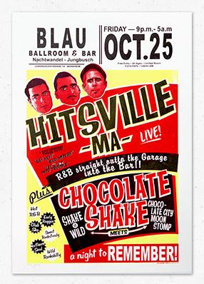 Hitsville MA & Chocolate Shake at Nachtwandel in Mannheim