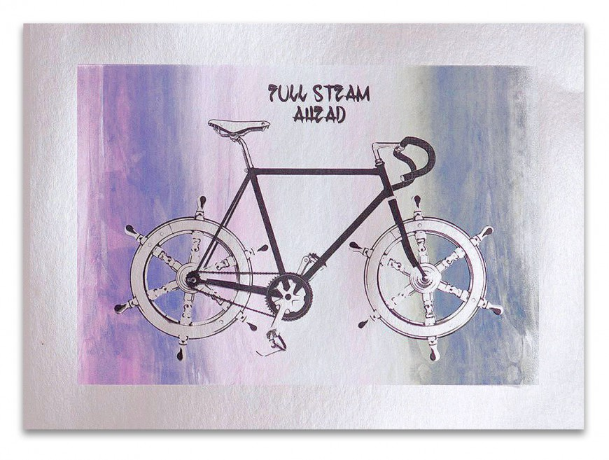 Artprint: Fixie – Full Steam Ahead