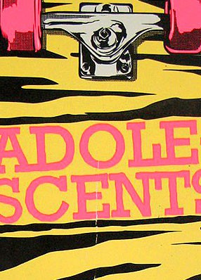 The Adolescents – Gigposter