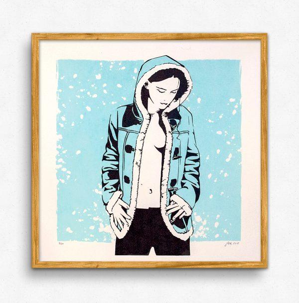 Eskimomädchen - Artprint