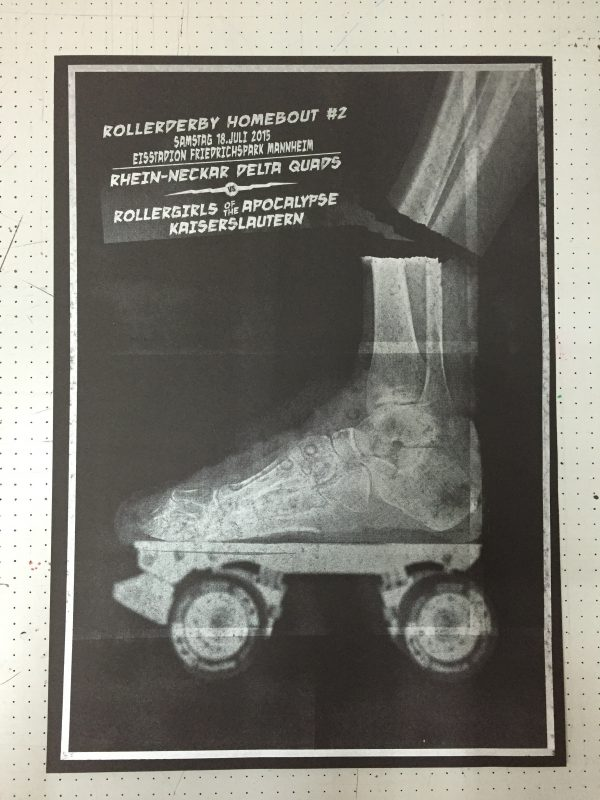 Rollerderby Homebout Poster for Delta Quads