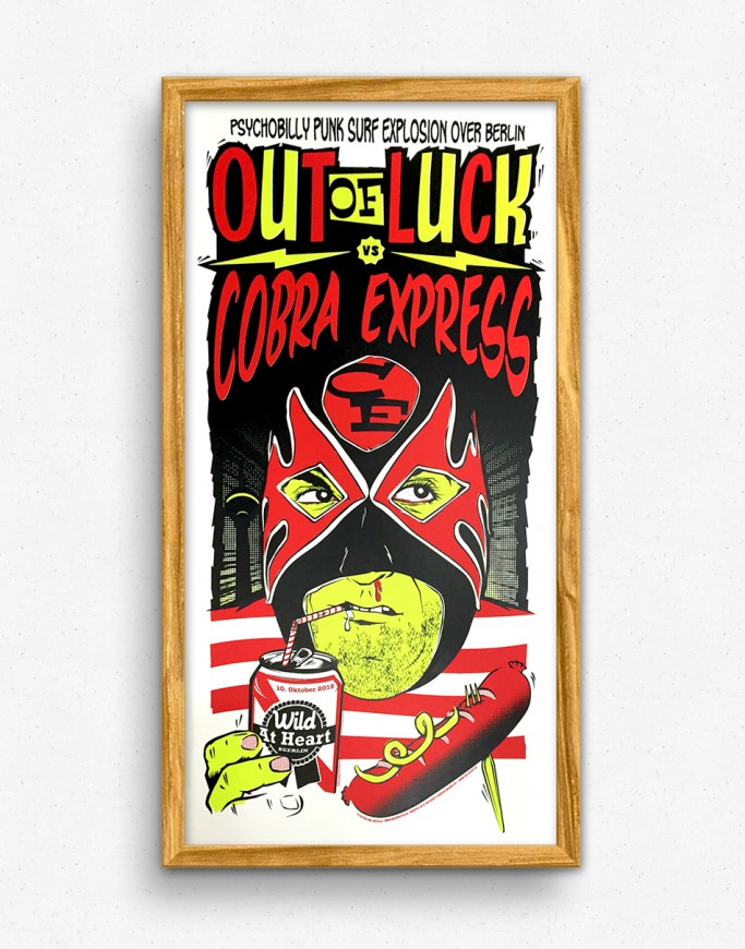 Cobra Express + Out of Luck