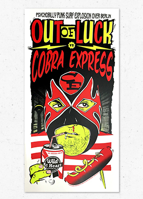 Out of Luck & Cobra Express in Berlin