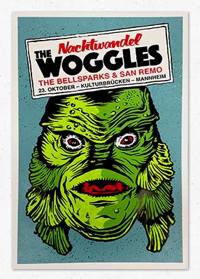 The Woggles & The Bellsparx & San Remo beim Nachtwandel Mannheim