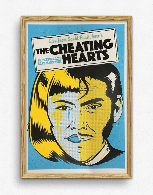 The Cheating Hearts - Yellow