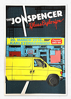 The Jon Spencer Blues Explosion in Heidelberg