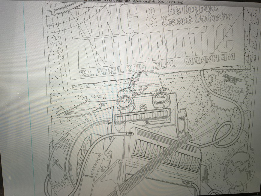 King Automatic Work in Progress