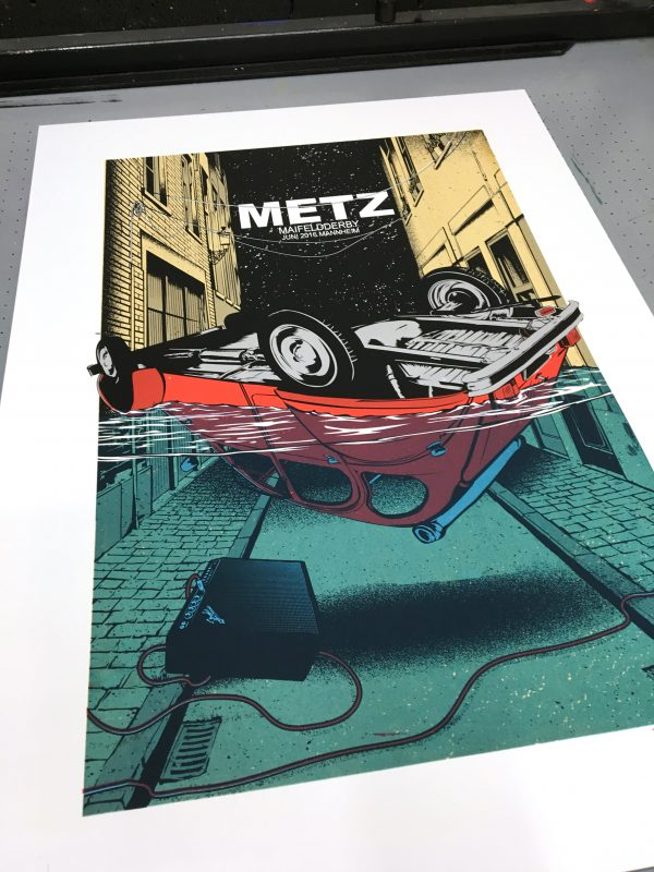 Metz Gigposter Work in Progress