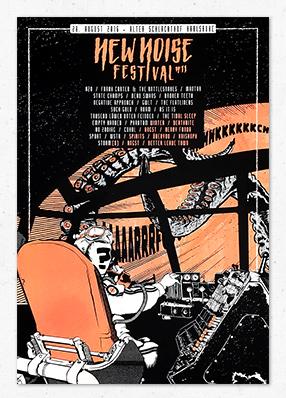 New Noise Festival – Gigposter
