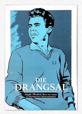 Drangsal at the Reeperbahnfestival in Hamburg