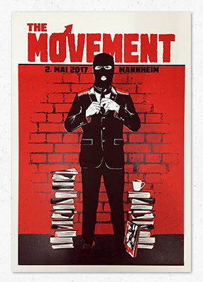 The Movement – Gigposter
