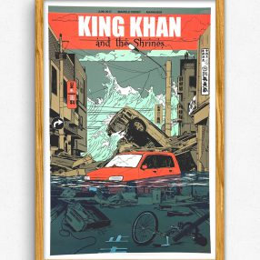 King Khan & The Shrines - Maifeld Derby Gigposter