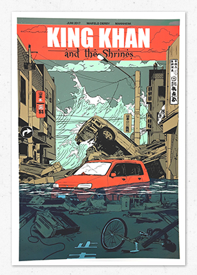 King Khan & The Shrines – Gigposter