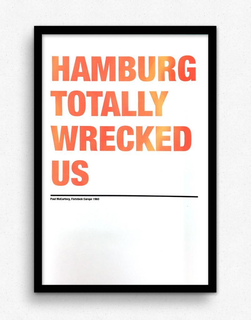 Hamburg Totally Wrecked Us