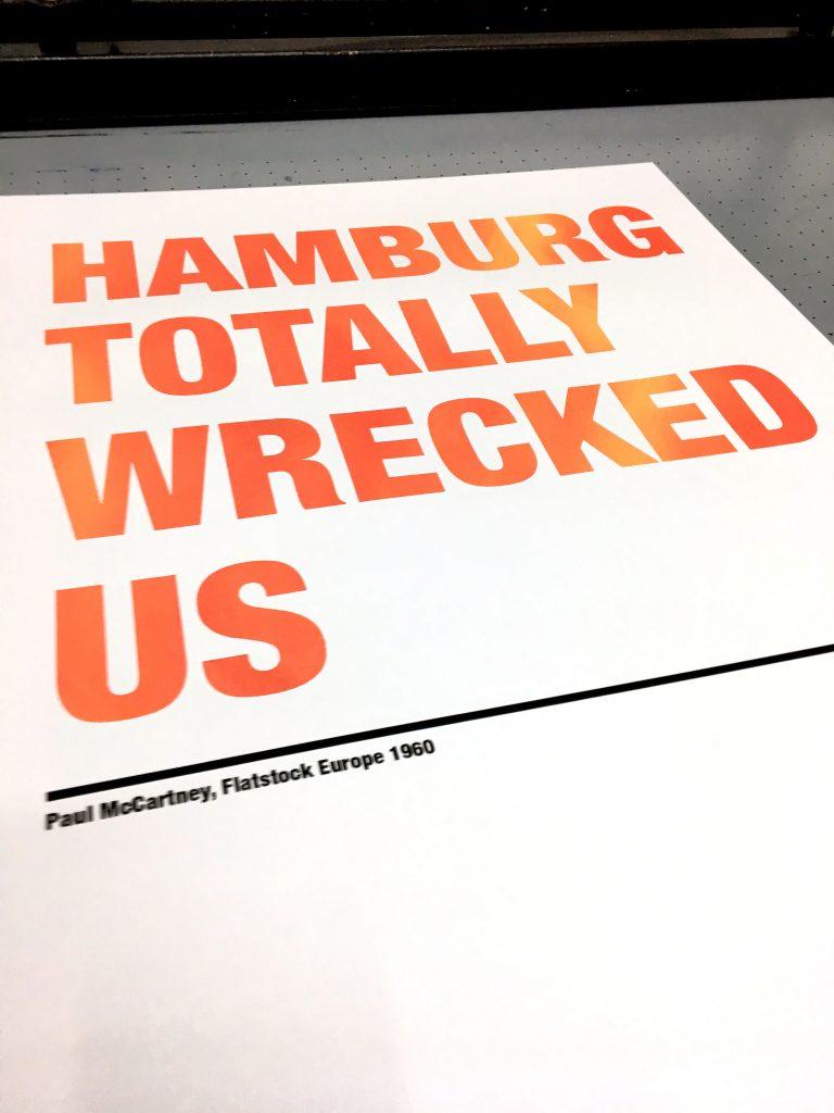 Hamburg Totally Wrecked Us