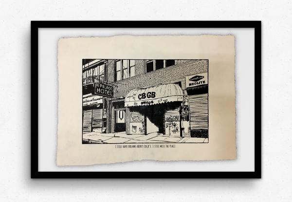 CBGBs - I still miss the place